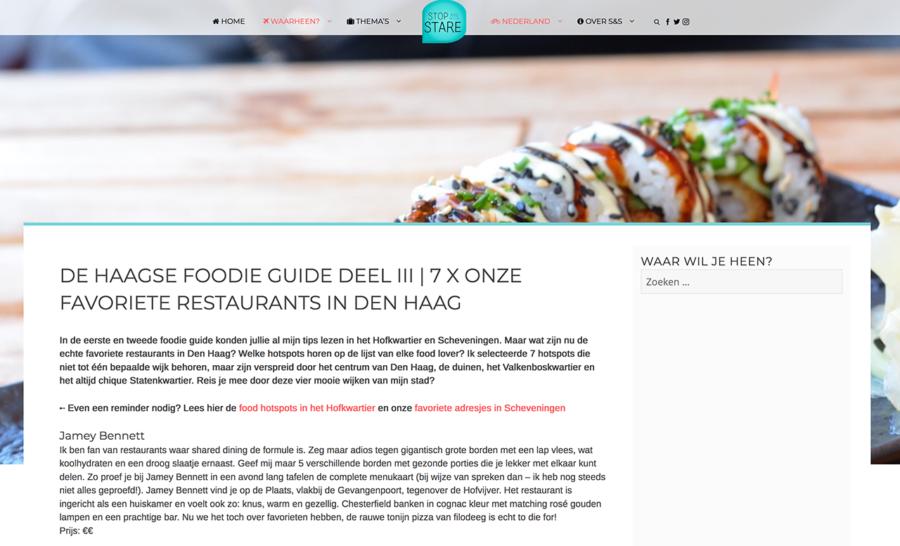 Haagse Foodie Guide